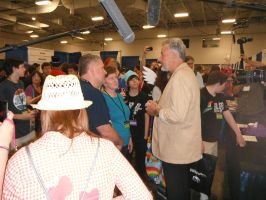 John DeLancie at BronyCon by DestinyDecade