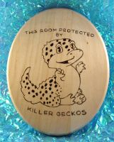 Leopard Gecko Protector by CatharsisJB