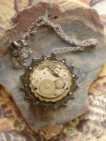 Steampunk Watchworks Pendant by cjgrand