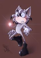 Mobian/sonic Smtry Drawaing by Imoon90