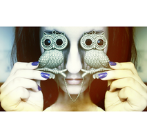Owl eyes by OreGaOmaeOMamoru