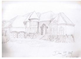 """""""A house scene out of Emma"""". by Kaypearl"""
