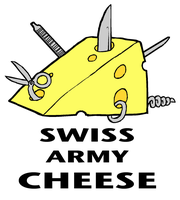 Swiss Army Cheese by Hail-NekoYasha