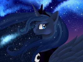 Princess Luna by Esperanta-Dragon