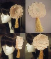 Taiwan's Blossom Hair Piece by antic-cafe