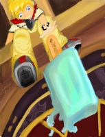 Roxas' Ice Cream Bummer by Checker-Bee