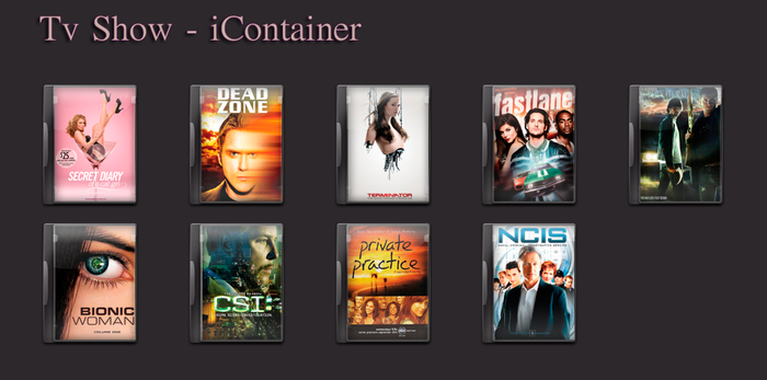 Tv Show - Dvd Icons by A4style