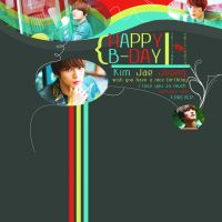 Jaejoong ah~ Happy birthday to you by bibi97nd