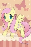 Fluttershy by Crystal-Ribbon