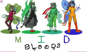 Homestuck Mid bloods by IronSteamSheep