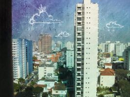City of Sao Paulo by ladymoom