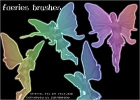 Faerie Brushes by Patslash. by surfing-ant