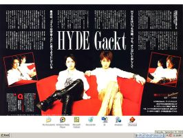 HYDE X Gackt : Articles by enervatus