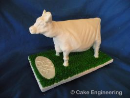 Butter cow cake by cake-engineering