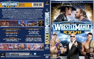Wrestlemania 27 cover v1 by eduard2009