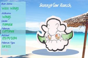 SunnyView Ranch App - Wax Wings by CaramelCreampuff
