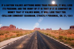 Quote by William Somerset Maugham by icu8124me