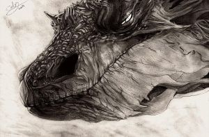Smaug by CelestialFrost