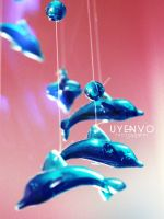Flying Dolphins #2 by uyenvicci-voo