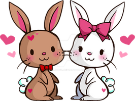 Love Bunnies by YamPuff