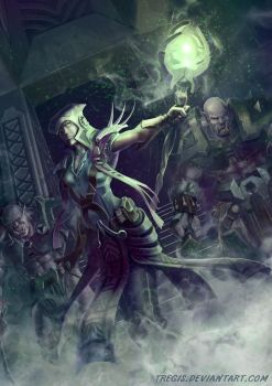Sorceress by Tregis