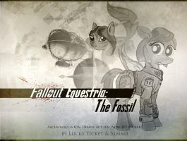 Fallout Equestria: The Fossil cover artwork by AlnairLindalwe