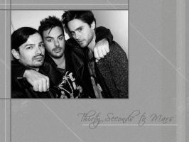30 Seconds to Mars Wall 315 by martiansoldier