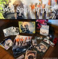 Wolf Spirit Artpack Auction by Exileden