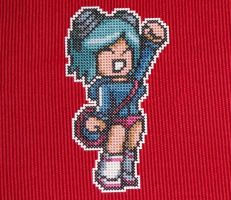 ramona flowers magnet x-stitch by eevilkat