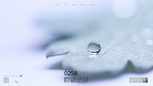 Minimalist Winter Theme by SebHolm91
