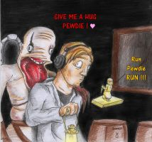 PewdiePie's gift by danwolf15
