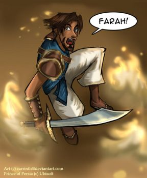 Prince of Persia by carrinth