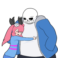 Commission - MIsha and Sans by Zedrin