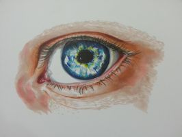 Eye by crazyartworm