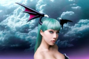 Blissed Out Morrigan by VampBeauty
