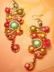 wired earrings by colourful-blossom