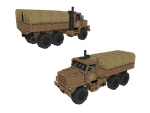 Pixel Army Truck by DartP