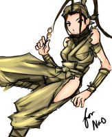 Street Fighter - Ibuki by buuzen
