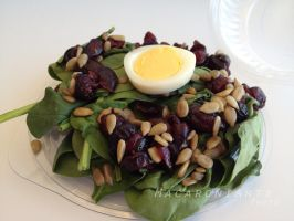 Spinach Salad - iPhone by thebreat