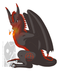 Wyvern Flame by Tinuvion