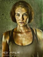 The Walking Dead: Maggie: Fractalius Re-Edit by nerdboy69