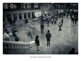Grand Central Rush by AlexMarshall