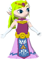 3D Toon Zelda by Metroidfreak101