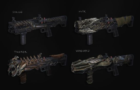 weapons - WIP of a quick tutorial vid coming soon by 2blind2draw