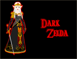 Dark Zelda by BlindedFan103