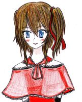girl in red by HAPPLES-XD
