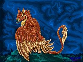 MSpaint Pyre by Blackmane