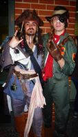 Mercenary meets Pirate by D4RKPR1NCE-86