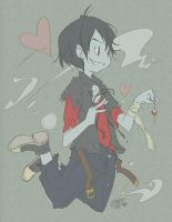 Adventure Time - Marshall Lee 01 by sanna-mania