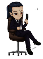 Tseng Chibi (color) by ssceles